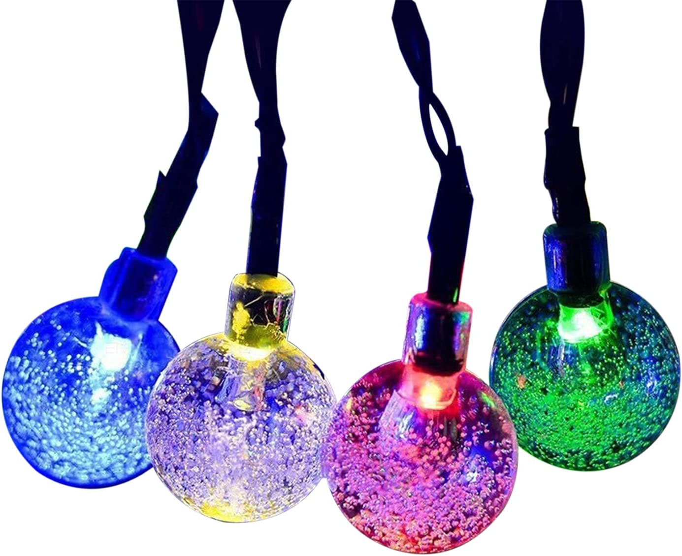 Leyeet Solar String Lights Waterproof Powered Outdoor LED free Latest item shipping