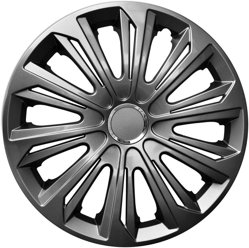 Radzierblende Extra Strong Weiss Lackiert 15 Zoll 4er Set Auto