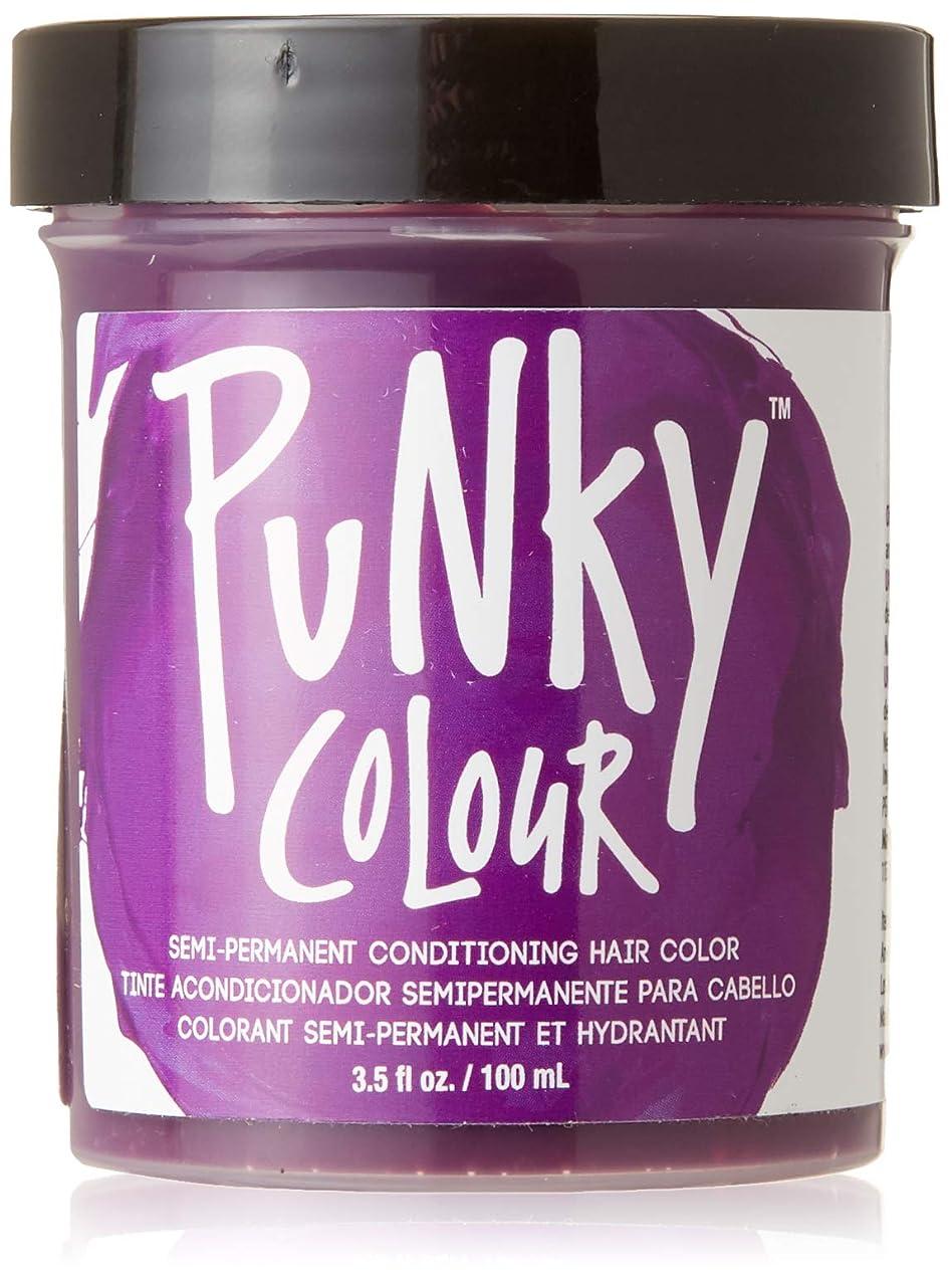 通行人先生充実JEROME RUSSELL Punky Color Semi-Permanent Conditioning Hair Color - Purple (並行輸入品)