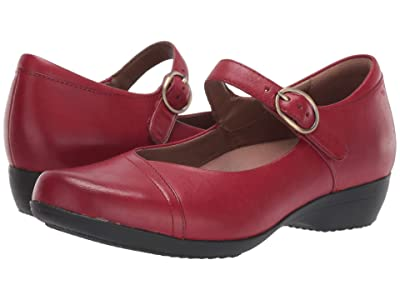 Dansko Fawna (Red Burnished Calf) Women