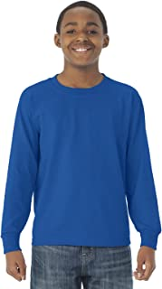 Jerzees 29BL Youth 5.6 oz 50/50 Long-Sleeve T-Shirt