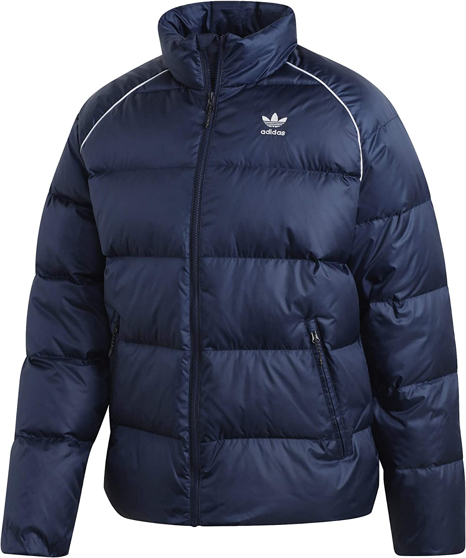 adidas Originals Men's Down Feather Jacket Collegiate Navy