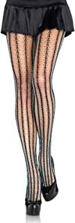 Leg Avenue Women's Thorn Fishnet Contrast Tights