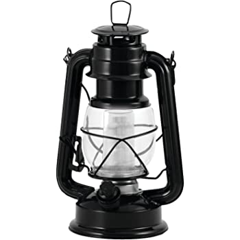 Northpoint 12-LED Lantern Vintage Style, Black