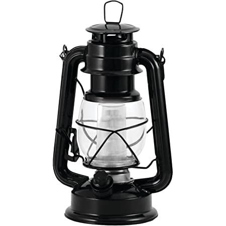 Northpoint 12-LED Lantern Vintage Style, Black, 10x6x6 (190495)