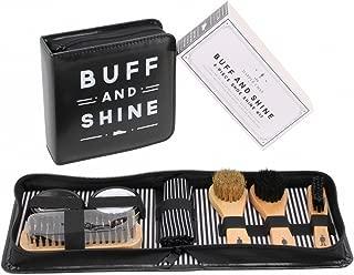 CGB Giftware Dapper Chap Buff and Shine Shoe Cleaning Kit