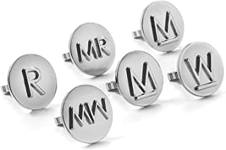 Outset GC105 Steak Collection Grill Charms, Set of 6
