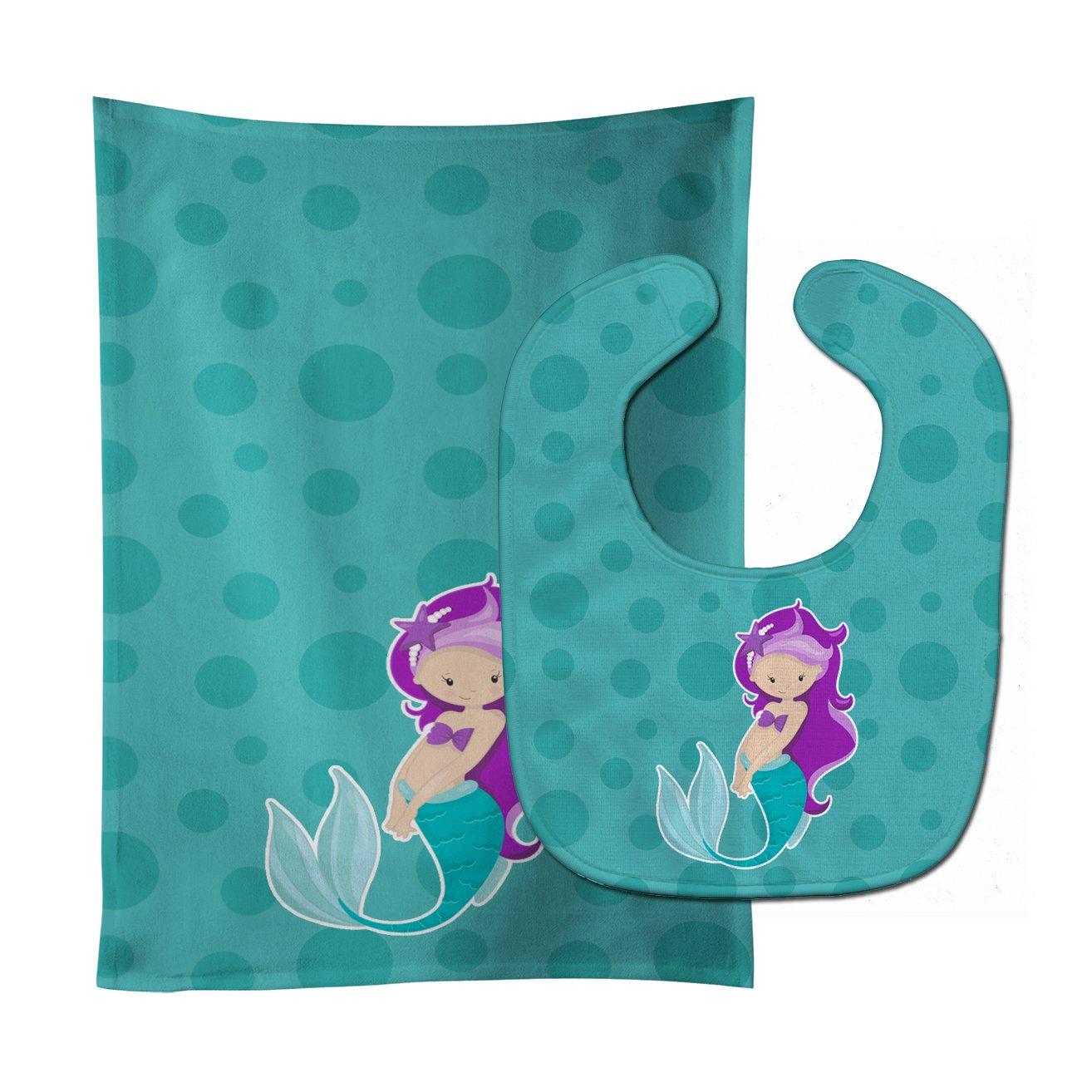 Max 87% OFF Caroline's Treasures BB8826STBU Beach Mermaid Al sold out. B Baby Purple Hair