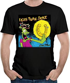 VGeee Men's Less Than Jake Losing Streak Astoria 100% Cotton Tee T-shirts