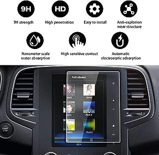 Savvies 6X Schutzfolie kompatibel mit Renault R-Link Captur 2014 Displayschutz-Folie Ultra-transparent