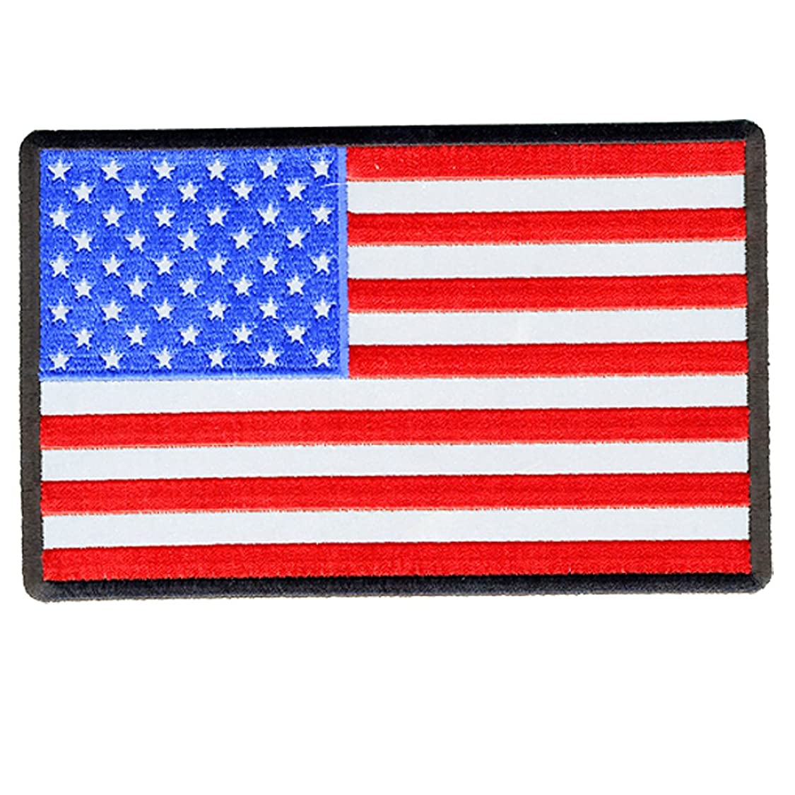 Hot Leathers American Flag Reflective Patch (6