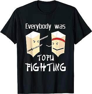 Tofu Fighting Funny T-Shirt