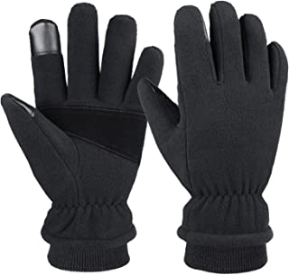 Cierto -20℉ Extreme Cold Winter Gloves Touchscreen & Waterproof for Men and Women with Warm Fleece Thermal Protection