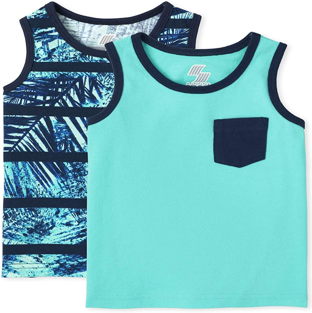 The Children's Place Toddler Boys Pocket Tank Top 2-Pack