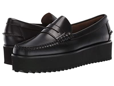 Sebago Dan Wedge (Black) Women