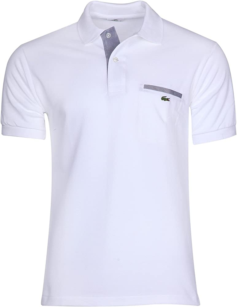 Lacoste polo,maglietta per uomo maniche corte,100% cotone PH1981