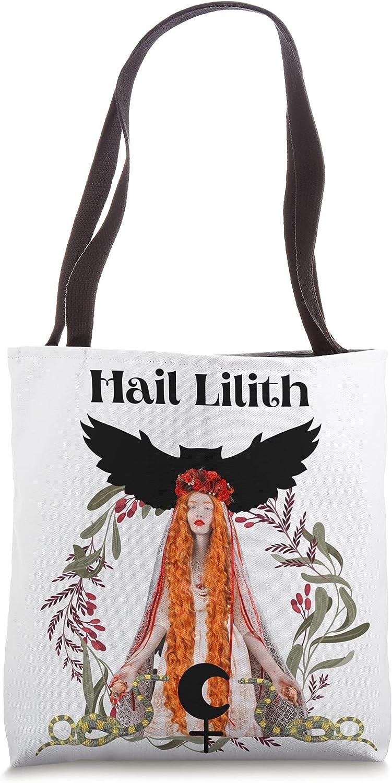 Hail Lilith Max 67% OFF Dark Goddess Empowerment Max 84% OFF Tote Bag Female