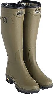 Le Chameau Men's Country Vibram Jersey Lined Boots