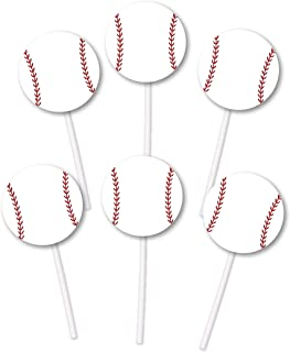 baseball bat cupcakes