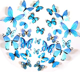 transparent blue butterfly