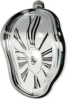 Out of the blue Reloj de plástico, Derretido de Dali, 18x13cm