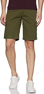DIVERSE Men's Slim Fit Shorts