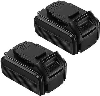 Replace DEWALT 20V Battery DCB205 DCB204, 5.5Ah Lithium Ion Suit for All Dewalt 20V Tools & Dewalt 20V Lithium Ion Charger