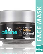 mCaffeine Naked & Raw Coffee Face Mask/Pack | Cocoa, Vitamin E | Tan Removal | Oily/Normal Skin | Paraben & Mineral Oil Free | 100 g