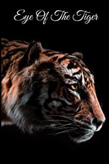 Eye Of The Tiger: Alphabetical Cat Tiger Lover Gift Internet Password Organizer Logbook | Looks Like a Regular Book | Hidd...