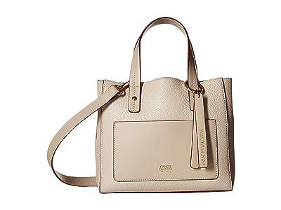 Frances Valentine Chloe Small Tote (Oyster) Handbags