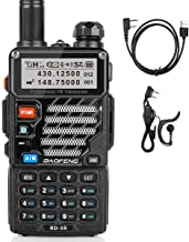 Best Baofeng RD-5R DMR Ham Amateur Two Way Radio, VHF/UHF Dual Band Dual Time Slot Walkie Talkie 1024 Channels Tier I & II Compatible with MOTOTRBO, Free Programming Cable Review
