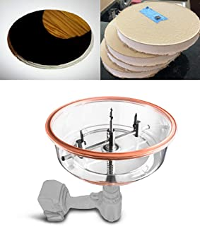 """Best QWORK Twin Blade Adjustable Hole Saw Cutter with ABS Dust Shield for Recessed Lights Speakers Cornhole Boards Cuts Plywood Sheetrock Plaster Fiberglass Plastic, 1-5/8"""" to 8"""" (40-200mm) Review"""