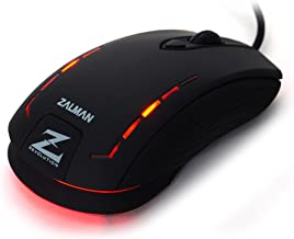 Zalman LED Gaming Optical Mouse with 2500DPI (ZM-M401R)