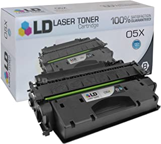 LD Compatible Toner Cartridge Replacement for HP 05X CE505X High Yield (Black)