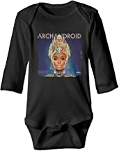 DamaYong Janelle Monae The ArchAndroid Baby Bodysuits Long Sleeve Romper Unisex Baby Cotton Crawling