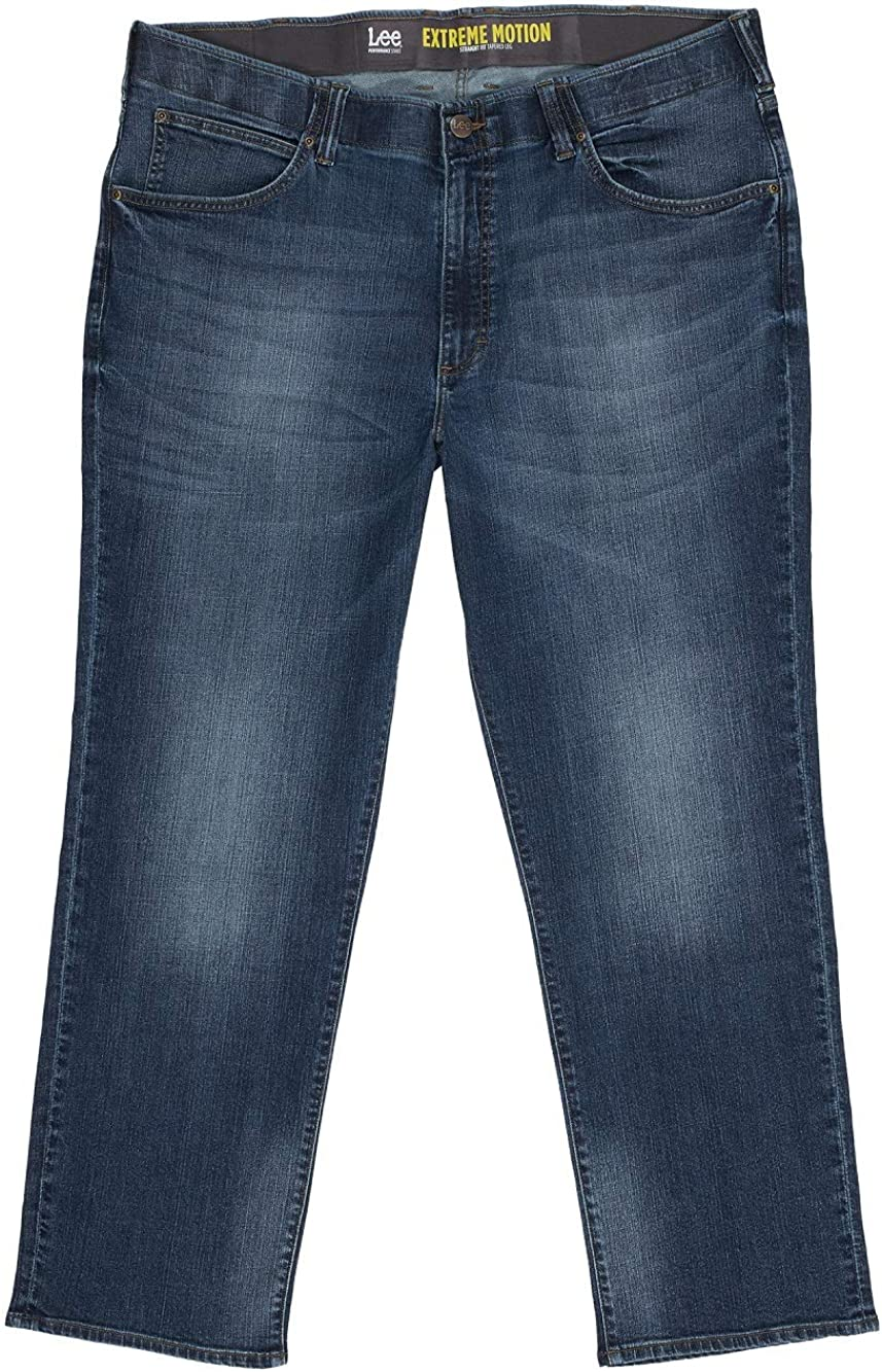 Lee Men's Big Tall Performance Relaxed F Extreme 供え Motion Series お洒落