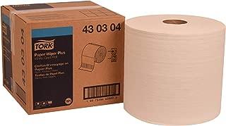 Tork 430304 Paper Wiper Plus, Giant Roll, 1-Ply, 11.1