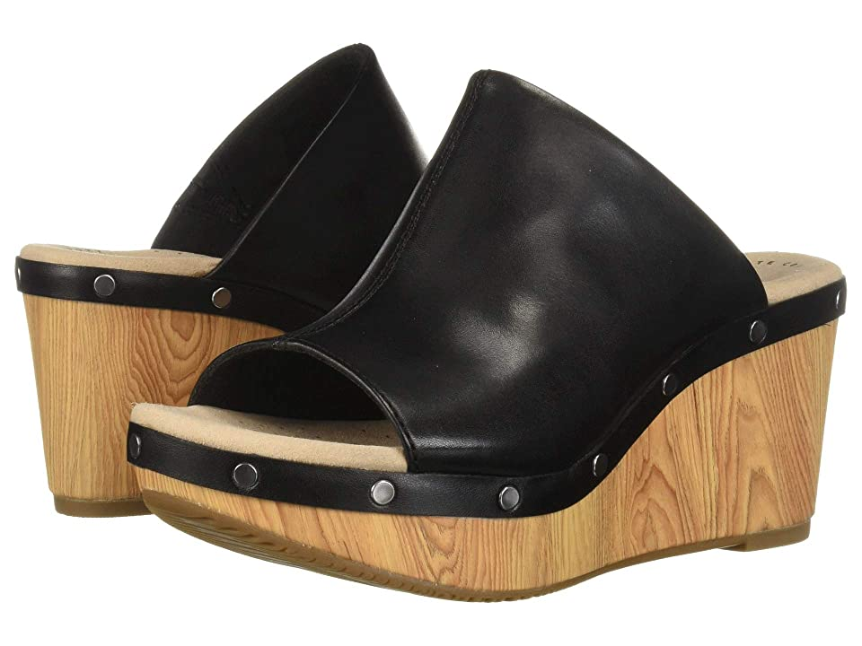 Clarks Annadel Molly (Black Leather) Women