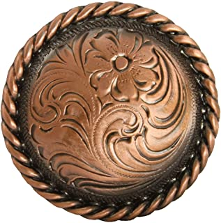 Conchos for Clothes Western Horse Saddle TACK Copper Color Rope Edge Concho 1 inch Screw Back
