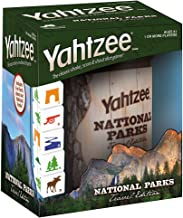 YAHTZEE National Parks Travel Edition | Classic Yahtzee Dice Game with a National Parks Theme | Perfect Travel Game for Fa...