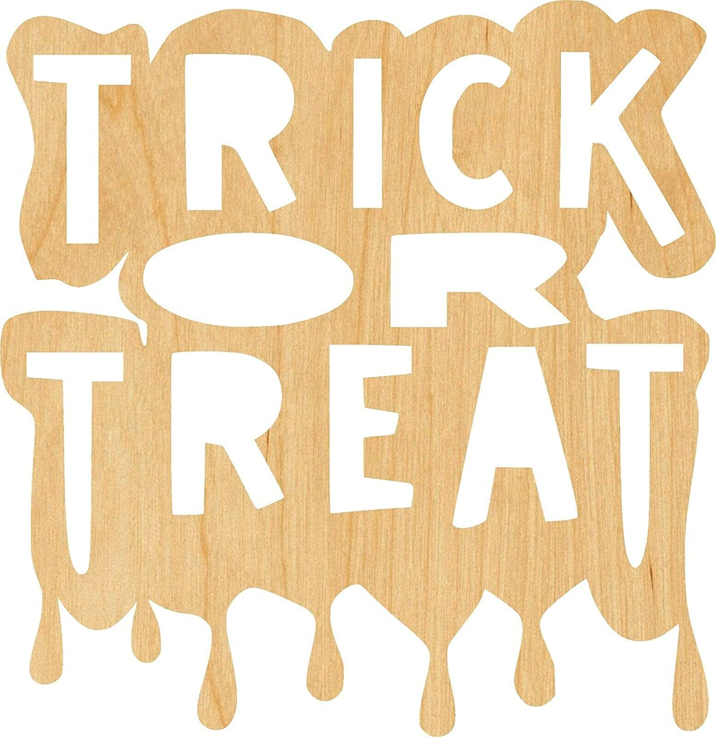 Trick Or Treat Easy-to-use Woodcraft Cutout Thickness: Size: Bombing free shipping 8 Inch 7 1