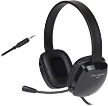 Stereo Headset with Unidirectional Noise-Canceling Microphone. Compatible with PC's, Macs, Chromebooks, Microsoft Surface,...