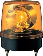 パトライト 大型回転灯 KG-100-Y Φ186 大型2面反射鏡 黄色
