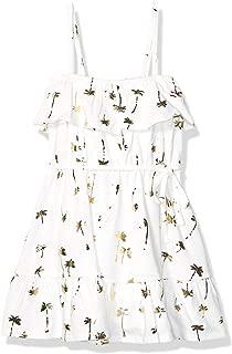 Baby Girls Ruffle Palm Tree Dress