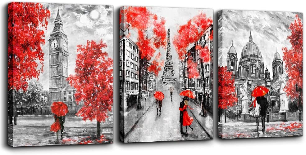 Canvas Wall Art Decor For Bedroom Black And White Scenery Romanti Couples Pictures Artwork Ready To Hang For Living Room Home Decoration Painting 20