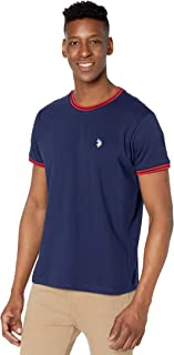 Men's Classic Fit Short Sleeve Ringer T-Shirt