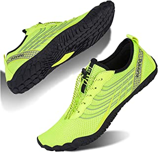 Water Shoes for Men and Women Barefoot Quick-Dry Aqua Sock Outdoor Athletic Sport Shoes for Kayaking, Boating, Hiking, Sur...