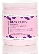 Aunt Jackie's Girls Baby Girl Curls, Curling and Twisting Custard, Great for..
