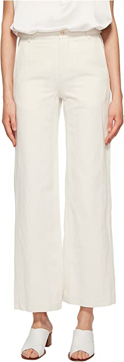 Vince - High-Rise Wide Leg Pants