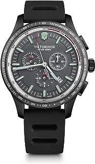 Victorinox - Hombre Alliance Sport Chronograph - Reloj de Acero Inoxidable de Cuarzo analógico de fabricación Suiza 241818
